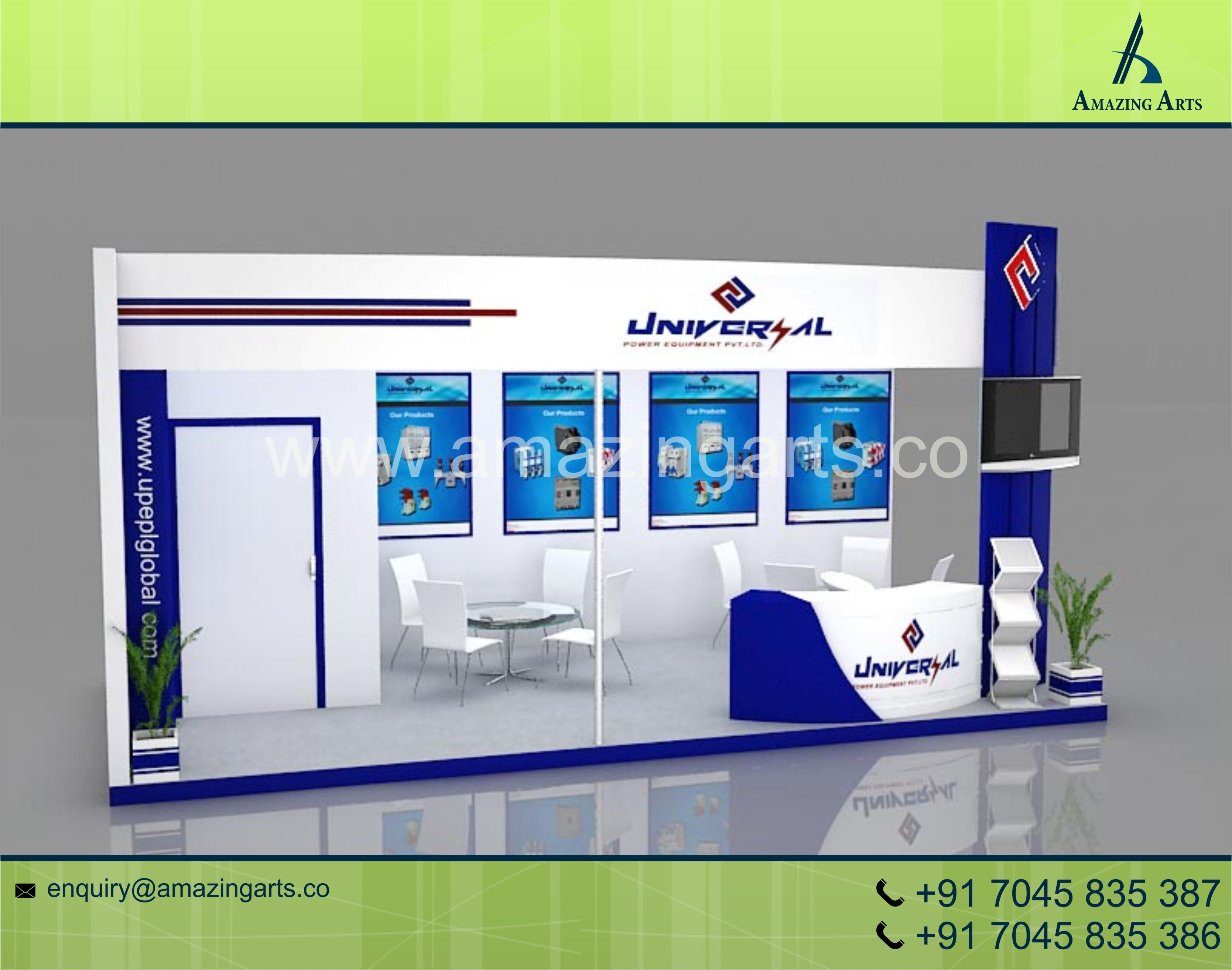 Exhibition Stall Mockup : Stall images usseek