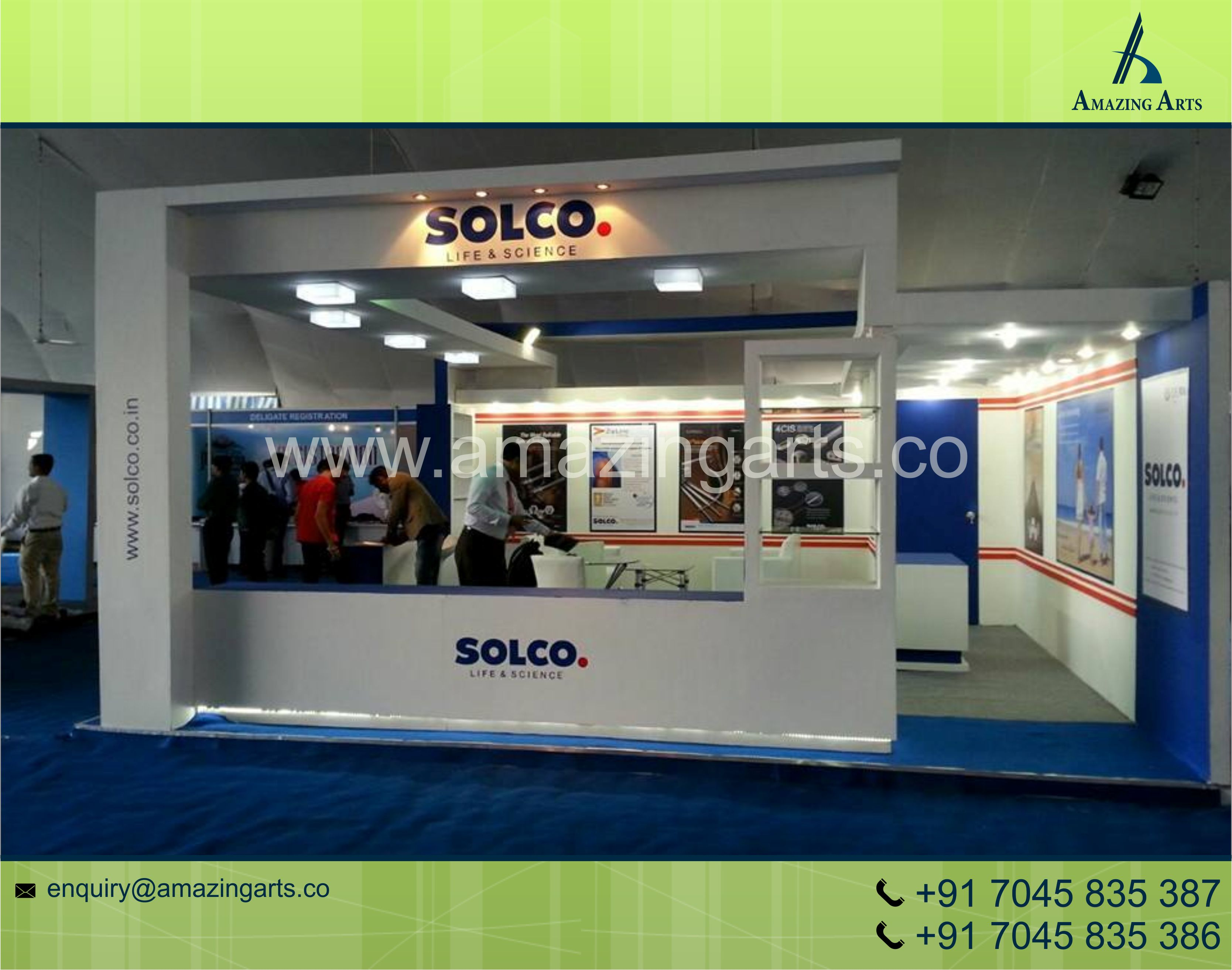 Exhibition Stall Material : Exhibition stall designer stall fabricator amazing arts group