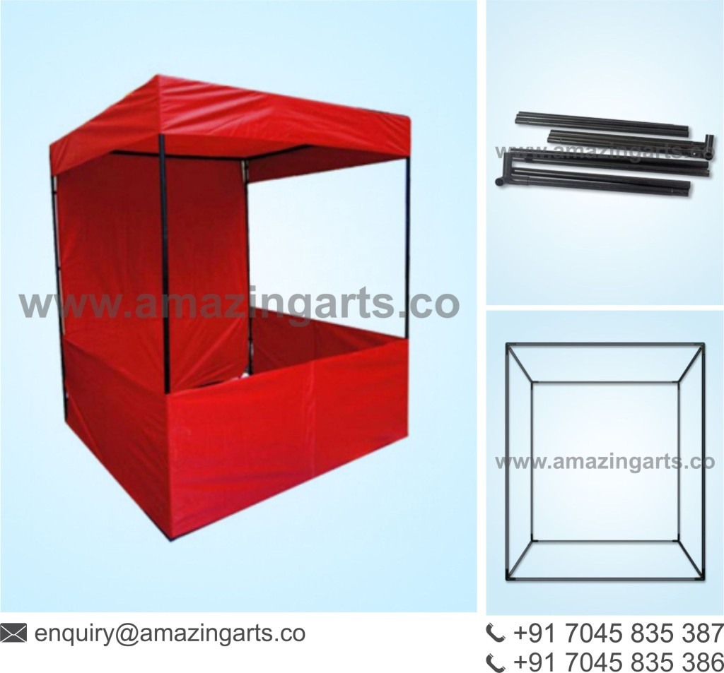 Standard Exhibition Stall : Promotional canopy portable kiosk