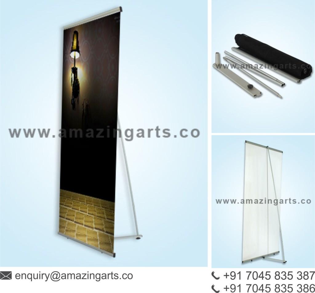 Portable Exhibition Stall, Portable Exhibition Kit, Popup Kit